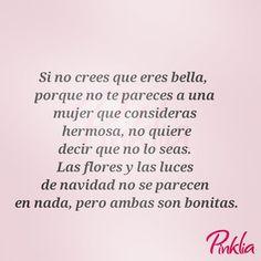 Eres bella sea como sea #pinklia #fashionblogger #styleblogger #asesoriadeimagen #estilo #belleza#fashion #style #frasesdeldia #frases #quotes #quotestoliveby #mujeresreales #mujeres #mujeresguerreras #stylish #love #beautiful #instagood #pretty #swag #pi