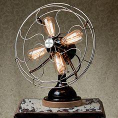Ventilateur lampe