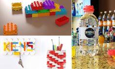 Marca brasileira inova ao criar garrafas sustentáveis cujas tampinhas são peças de montar
