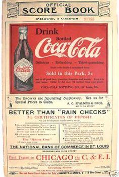 Coca Cola 1914 Coca Cola Poster, Coca Cola Ad, Always Coca Cola, Retro Advertising, Vintage Advertisements, Vintage Ads, Vintage Items, Coca Cola Vintage, Coca Cola History