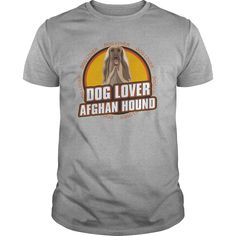 Dog Lover Afghan Hound TShirt for Dog Owners