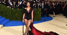 The Story Behind Nicki Minaj's Bold Met Gala Gown http://www.vogue.com/article/nicki-minaj-met-gala-2017-story-behind-custom-hm-look?utm_campaign=crowdfire&utm_content=crowdfire&utm_medium=social&utm_source=pinterest