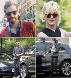 National sunglasses day Jamie Dornan and Dakota Johnson