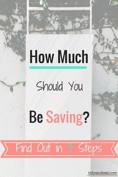 That is the million dollar question. How much should I save each month? How much is enough? How can I save when I'm still in debt? It can all be very overwhelming. The answers to these questions can also vary quite a bit from one person to another. One size does not fit all!