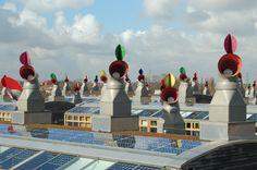 SPACE | 영국 남부 베딩턴 시의 베드제드는 탄소 제로 도시 모델로, 자연이 주는 혜택과 첨단 시설의 조화를 통해 제로 에너지 하우스의 가능성을 입증했다. | Lexus i-Magazine Ver.5 앱 다운로드 ▶ www.lexus.co.kr/magazine #Lexus #Magazine #progressive #space #bedzed