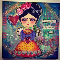 Frida.carla gallardo de Lindo Mejunje.