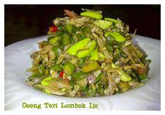 Oseng Teri Lombok Ijo