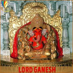 """Lord Ganesha is called as Siddhivinayaka because it means that he is the """"Bestower of #Success"""""""