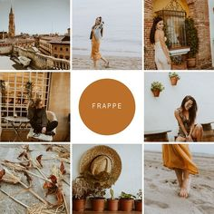 Mobile Lightroom Preset Frappe by Victoria Bee Photography on @creativemarket