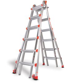 Type 1A Classic - Model 26 Little Giant is the world's finest ladder, combining the strengths of traditional A-frame ladders, extension...