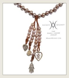 Yoga inspired jewelry by Wendy Mignot wendymignot.com