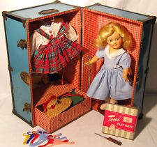 Vintage Toni Doll - TRAVELED EUROPE - BEAUTIFUL - TRUNK +EXTRAS - Ideal P91 P-91