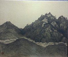 The landscape of Korean Samgak Mountain