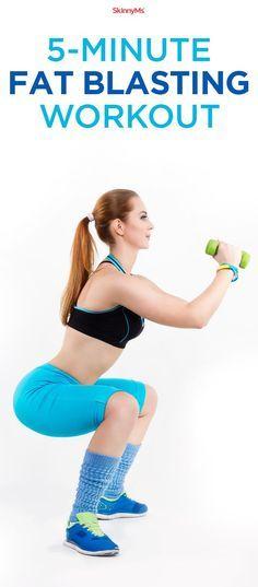 This beginner fat blaster is a high intensity workout that can burn fat up to 24 hours! #workout #weightloss #beginnerworkout