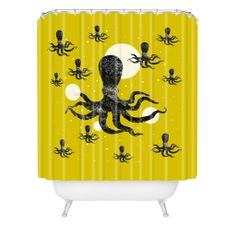30% off 12/13/13 only with code LASTCHANCE30!! Elisabeth Fredriksson Octopi Shower Curtain | DENY Designs Home Accessories