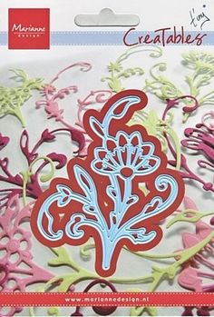 Marianne Creatables Die Spring Flower 9cm x 7cm Cutter compatible most machines