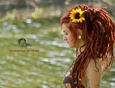 Wow love the red dreads!!!