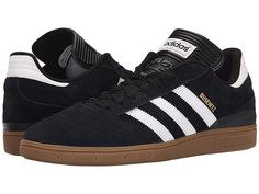adidas Skateboarding Busenitz Pro (Black/White/Metallic Gold) Men's Skate Shoes Adidas Shoes, Adidas Men, Black Adidas, Gold Man, Me Too Shoes, Men's Shoes, Shoes Style, Mens Skate Shoes, Black Dress Shoes