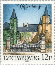 Sello: Differdange (Luxemburgo) (Tourism) Mi:LU 1202,Yt:LU 1152