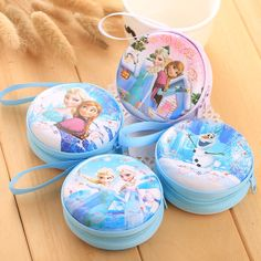 1.34$  Watch now - http://ali9f0.shopchina.info/go.php?t=32773063739 - DUDINI Hot Sale Cartoon Coin Purse Elsa Anna Princess Girls Key Case Wallet Children Snow Queen Headset Bag Coin Bag 1.34$ #bestbuy