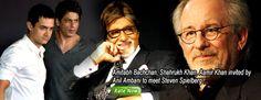 Amitabh Bachchan, Shahrukh Khan, Aamir Khan invited by Anil Ambani to meet Steven Spielberg