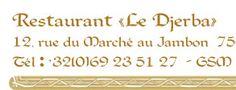LE DJERBA - Restaurant Tunisien à Tournai