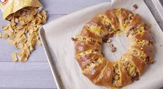 Frito Pie Crescent Roll Ring