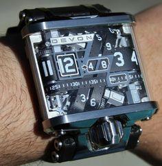 Devon Tread watchwrist