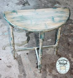End table done in Websters and behr plus paint! The top coat is antique white. I finished it with stain and polycrylic !