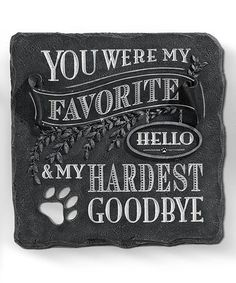 'You Were My Favorite' Stepping Stone #zulily #zulilyfinds