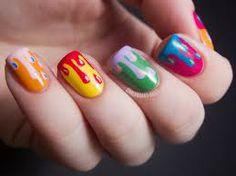 Dripping nails....