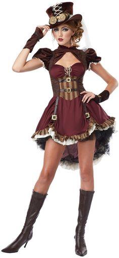 Steampunk Girl Adult Costume (size: S) #CompleteCostume