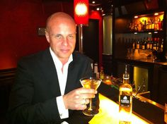 Cariel Master Blender Peter Carlson, relaxing at Amsterdam's awesome Little Buddha. Yes ladies he's single...