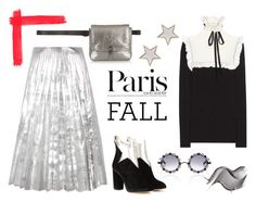 """""""I Love Paris in the Fall"""" by erindream ❤ liked on Polyvore featuring Philosophy di Lorenzo Serafini, Pared, Charlotte Olympia, Elizabeth and James, Gucci and Givenchy"""