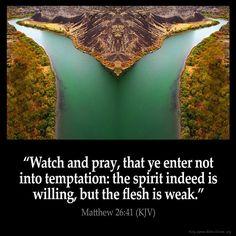 Matthew 26:41