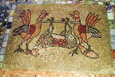 Mosaic: Medieval Italy. Basilica di santa Maria e Donato, Murano, Veneto