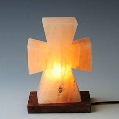 Himalayan Salt Lamp Cross