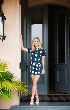 Reese Witherspoon poses in Draper James clothing campaign. Photo: Paul Costello