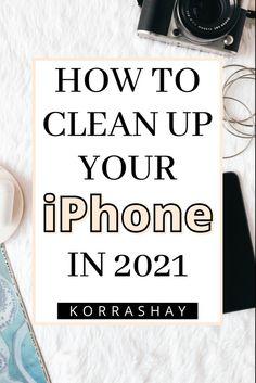 Phone Organization, Organization Ideas, Iphone Information, Iphone Secrets, Iphone Life Hacks, Clean Phone, Computer Help, Simple Life Hacks, Good To Know