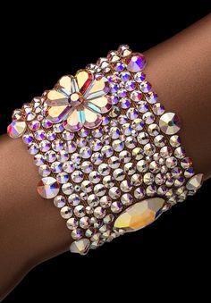 Bettina Rhinestone Bracelet HJ303 CAB   Dancesport Fashion @ DanceShopper.com