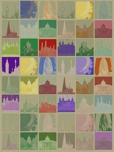 London Pop Squares - Limited Editions - Big Fat Arts   BFA Gallery   Czar Catstick - 1