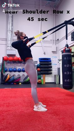 Trx Workouts For Women, Upper Body Workout For Women, Gym Workout Plan For Women, Fun Workouts, Trx Workout Plan, Trx Gym, Workout Videos, Trx Training, Strength Training