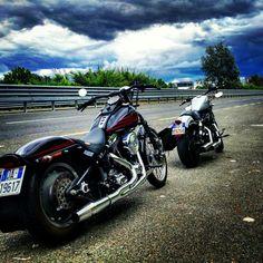 Harley Davidson Bad Boy Springer - Sportster Iron