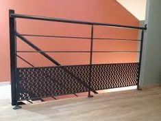 """Résultat de recherche d'images pour """"garde corps escalier"""" Leo, Images, Stairs, Home Decor, Modern Balcony, Search, Stairway, Decoration Home, Room Decor"""