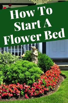 Every time spring comes around, it's hard not to feel like that grassy yard is missing something when it comes to style. If you want to add some color and variety, why not create a flower bed? Gardening For Beginners, Gardening Tips, Organic Soil, Landscape Plans, Spring Is Coming, Types Of Flowers, Flower Beds, Pretty Good, Garden Beds