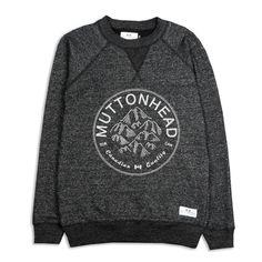Mountain Crew // Charcoal Fleece