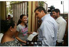 Gobernador García Cabeza de Vaca realiza gira de trabajo en Reynosa