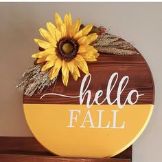 Fall Halloween, Halloween Crafts, Fall Crafts, Holiday Crafts, Wooden Door Signs, Wood Wreath, Fall Projects, Dollar Tree Crafts, Craft Fairs
