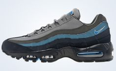 Nike Air Max 95 Blue/Graphite  $183  Possibly the most uncomfortable shoe I have ever owned