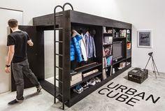 Urban Cube espacio pequeño y funcional.
